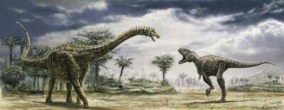 Ampelosaurus tarascosaurus 1