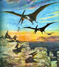 Grupo de Pteranodon