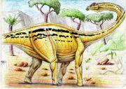 A sauropod by ebelesaurus-d31sxt1