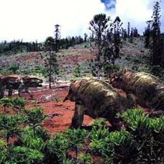 Placerias en Caminando con Dinosaurios, también con un <a href=