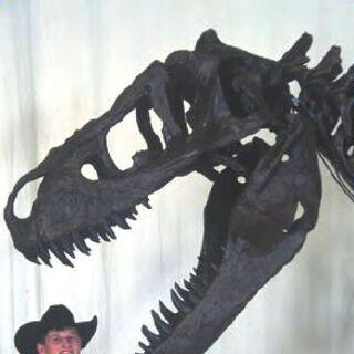 Bucky Derflinger descubrió a Bucky, el adolescente T. rex.