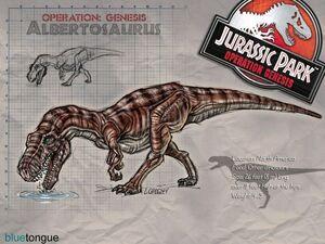 Альбертозавр Парк Юрского периода