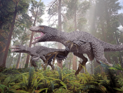 Dakotaraptor 12 by herschel hoffmeyer-dbms9bj