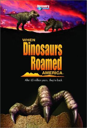When Dinosaurs Roamed America Cover