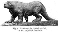 Iguanodon Crystal Palace Park