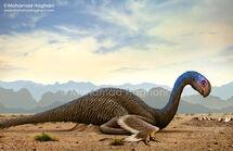 Gigantoraptor-Mohamad Haghani