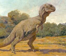 Charles Кnight tyrannosaurus rex, 1906