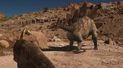 When Dinosaurs Roamed America Dryosaurus and Stegosaurus