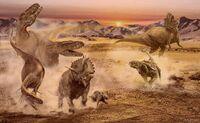 Albertosaurus-arrhinoceratops-anodontosaurus-jan-sovak