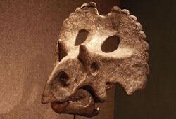 Yehuecauhceratops skull model