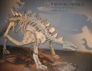 Gigantspinosaurus модель