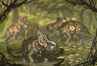 Пахиринозавры от Андрея Белова