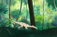 Sylvan pyroraptor by longbow1415-d9jct5c