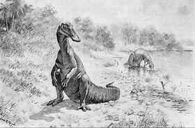Гадрозавр Найта