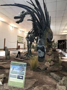 Bajadasaurus reconstruction