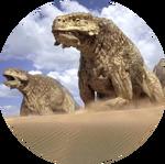 Pareiasaurus logo