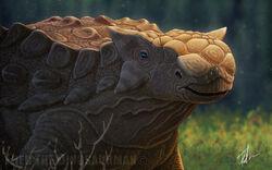 Ankylosaurus by fredthedinosaurman-d91rn0w
