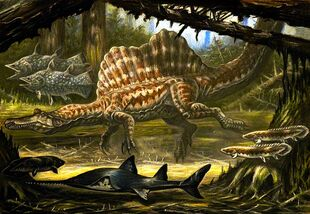 800px-Underwater Spinosaurus ecology
