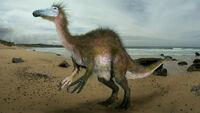 Deinocheirus by johnson mortimer