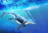 Shonisaurus by piratadandi