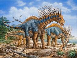 Amargasaurus-group-s