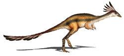 Альваресзавр реконструкция