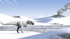 Arctic tyrant nanuqsaurus hoglundi by microcosmicecology-d7jwv4o
