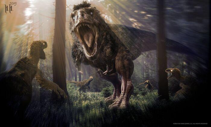 Tyrannosaurus feather killer