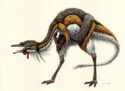 Alvarezsaurus by esthervanhulsen-d6wlb8y 0f25