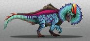 Cool Erliphosaurus by nutkasecreates