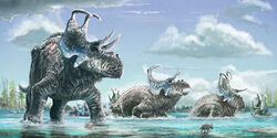 Machairoceratops-horned-dinosaur