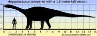Aegyptosaurus-size