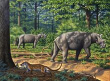 Uintatherium-browsing-an-Eocene-forest