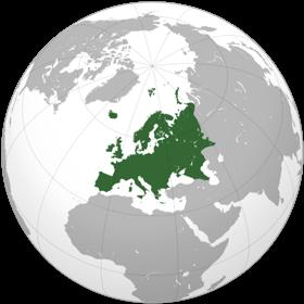 Европа карта
