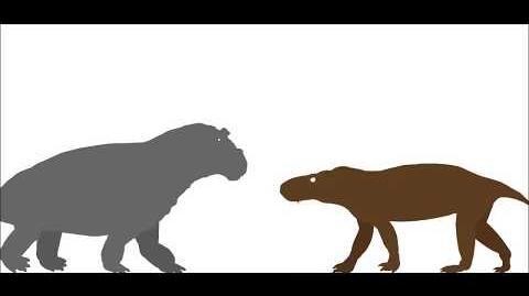 CSLA- Estemmenosuchus uralensis Vs Scylacosuchus orenburgensis