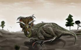 Kosmoceratops and Talos