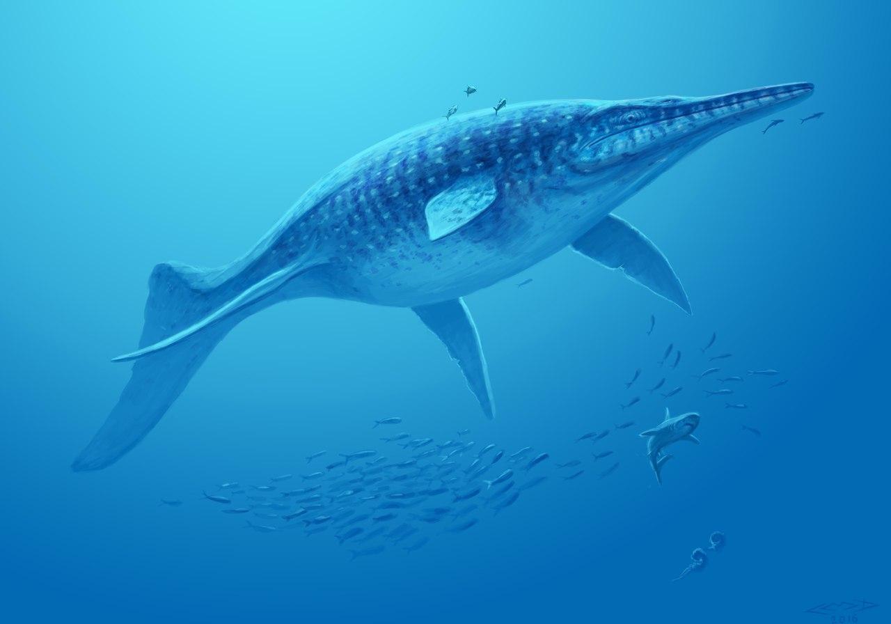 динозавр ихтиозавр картинки