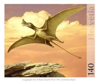 Flugsaurier Raeticodactylus