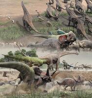 Cretaceous dino