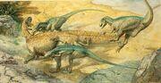 Тенонтозавр и дейнонихи 2