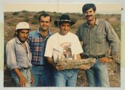 D. Hernández, L. Salgado, R. Carolini, R. Coria and dentary Giganotosaurus