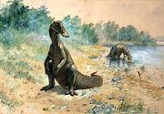 """""""Hadrosaurus mirabilis"""" (Knight 1897)"""