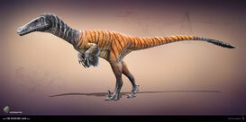 Austroraptor the stomping land