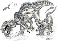 Boar croc attack by hodarinundu-d2e5a7f