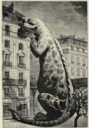 Iguanodon in París