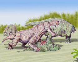 Скутозавр и иностранцевия