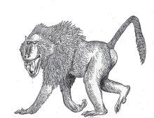 Dinopithecus by hodarinundu-dbi0fda