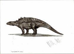 Liaoningosaurus paradoxus by teratophoneus-d4nvlam ec50