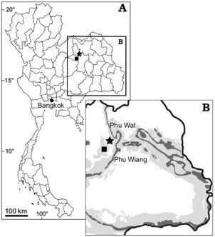 Northeast Thailand geology