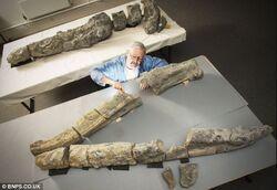 The Weymouth Bay pliosaur and Richard Forrest
